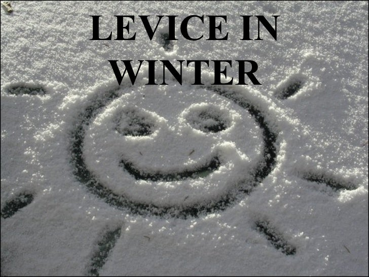 Levice in winter