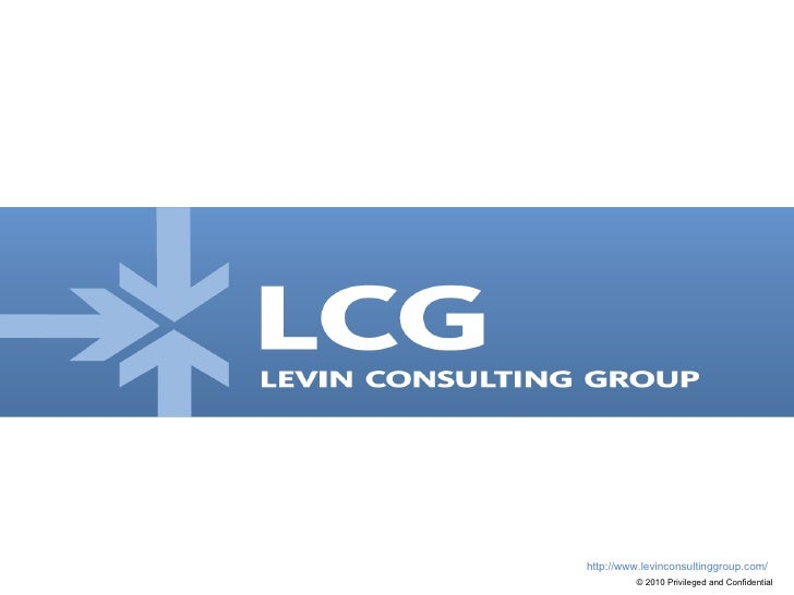 Levin Consulting Group   Overview