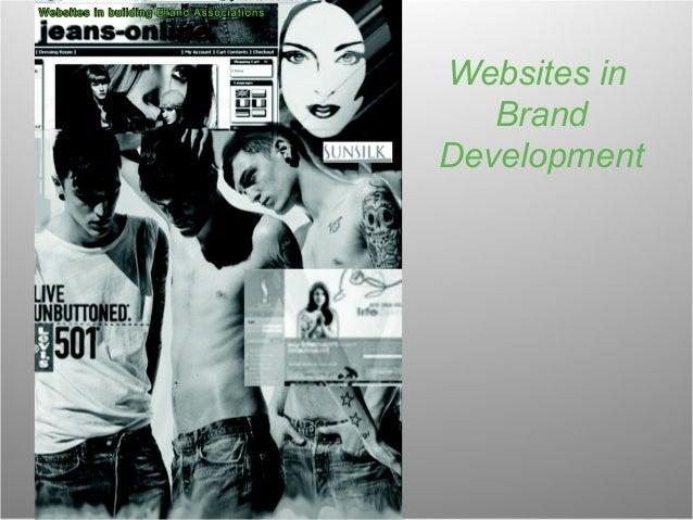Websites in Brand Development