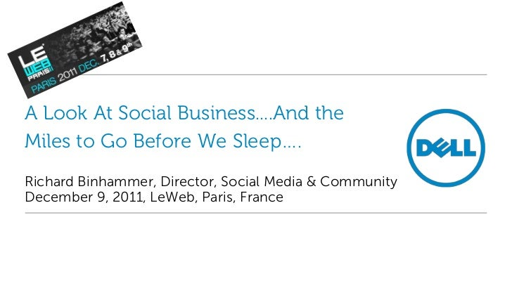 A Look At Social Business