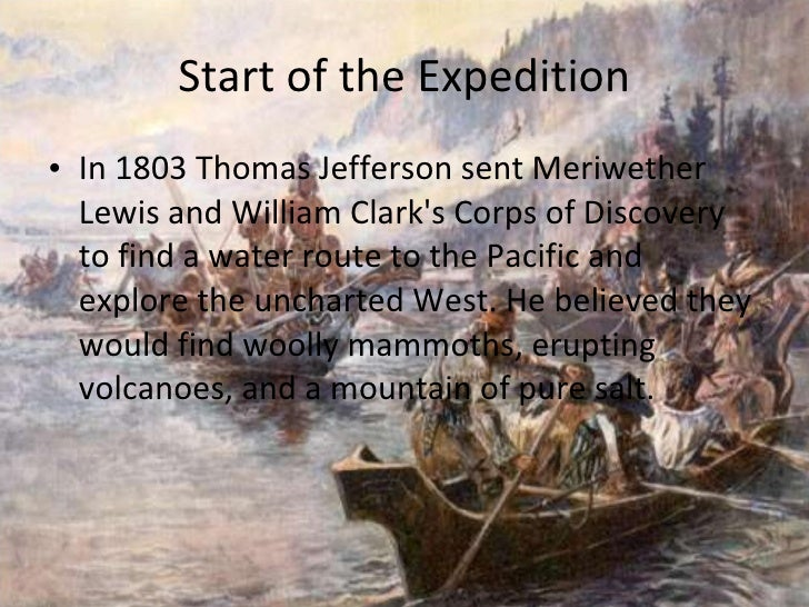the jeffersonian era lewis and clark The jefferson era 1800–1816 section 1 jefferson takes office section 2 the   details: napoleon sells louisiana in 1803 lewis, clark, and pike bring back.