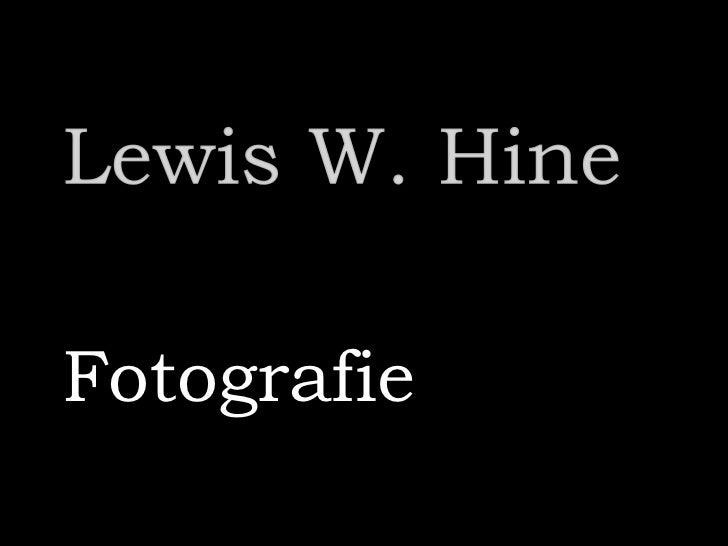 Lewis W. Hine - Photos