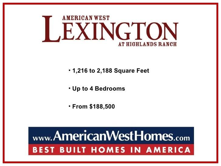 <ul><li>1,216 to 2,188 Square Feet </li></ul><ul><li>Up to 4 Bedrooms </li></ul><ul><li>From $188,500 </li></ul>