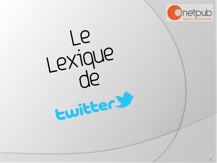 Lexique Twitter