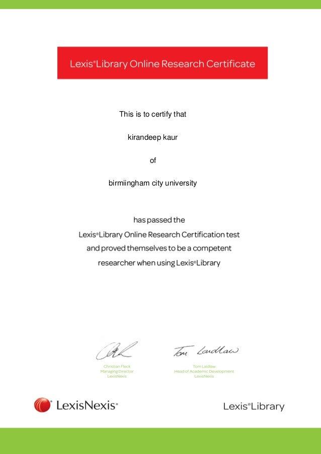 This is to certify thatkirandeep kaurofbirmiingham city university