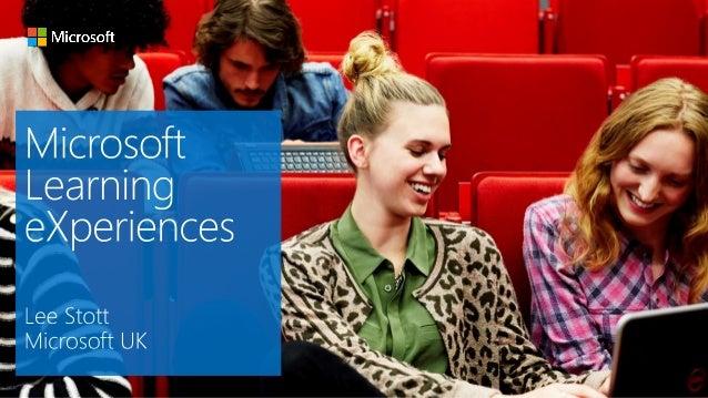 Microsoft Learning Experiences Skills and Employability