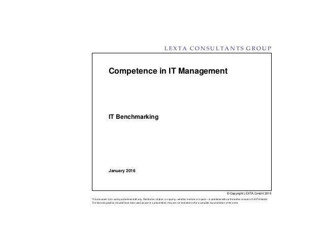 © Copyright LEXTA GmbH 2016 This document is for use by authorised staff only. Distribution, citation, or copying – whethe...
