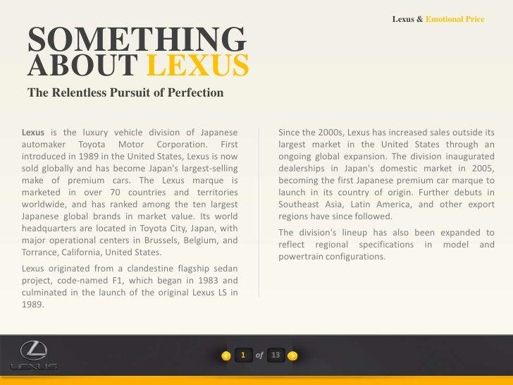 Toyota Case Study - Xerox