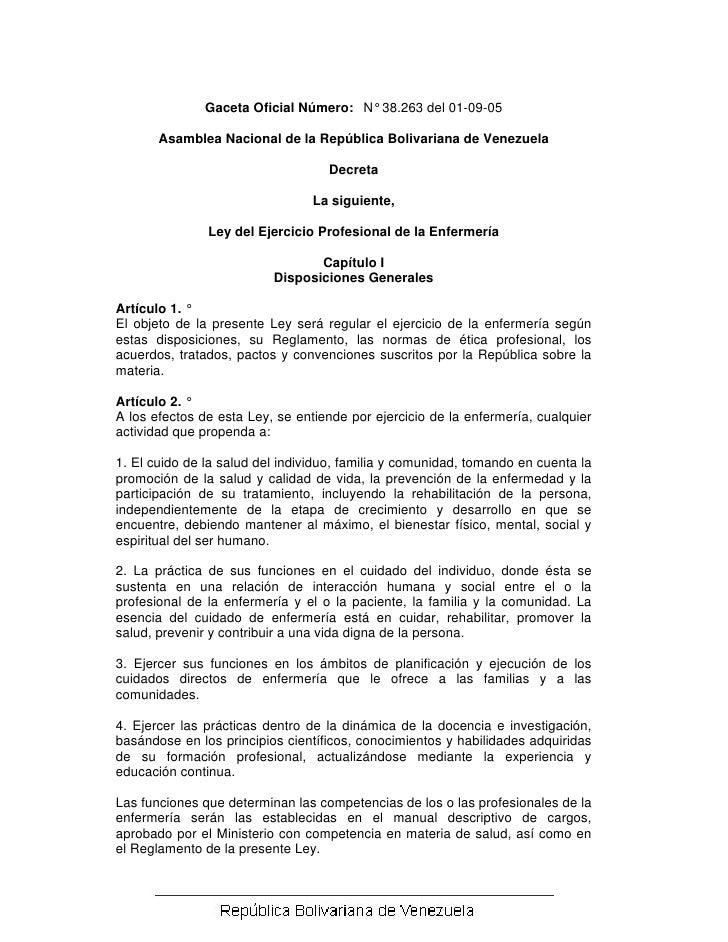 Ley del-ejercicio-profesional-de-la-enfermeria