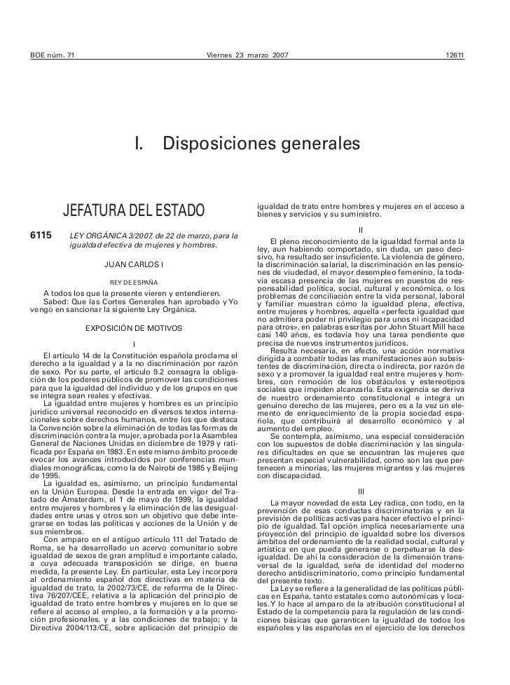 Ley organica-3-2007