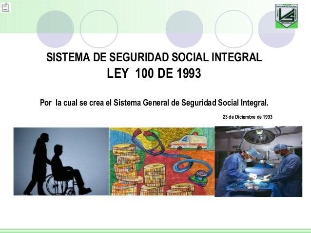 ley 100 2006: