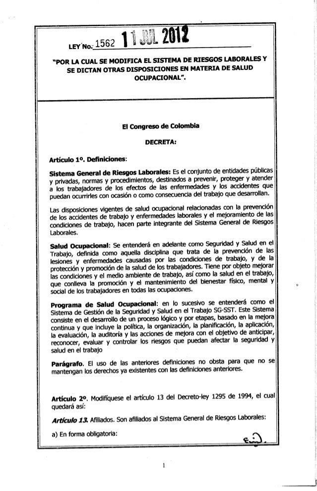 Ley 1562 de_2012_sistema_de_riesgos_laborales