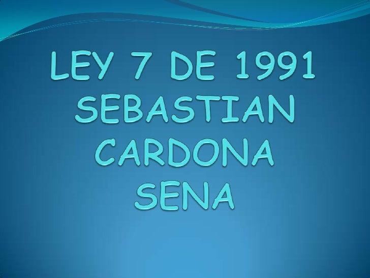 Ley 7