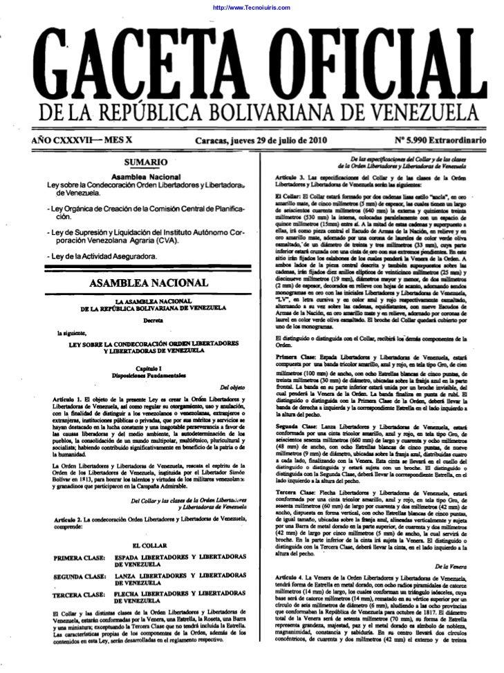 Ley de actividad aseguradora gaceta oficial-5990 29-julio-2010[1]