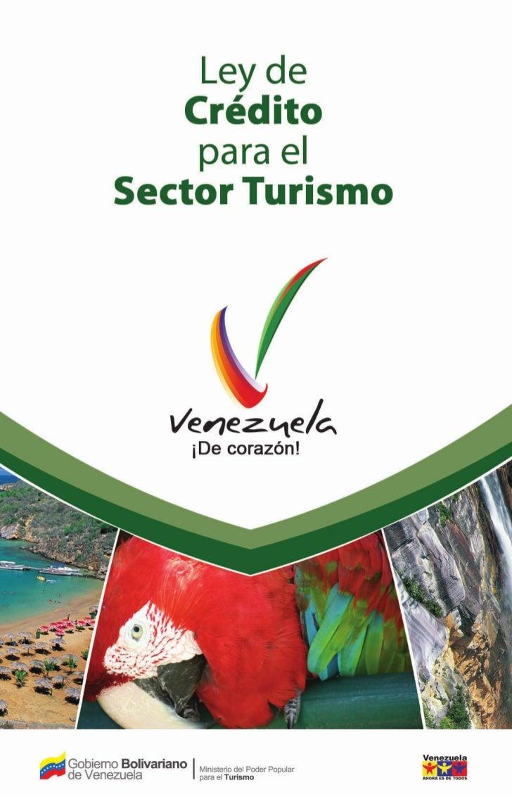 Ley de crédito para el sector turismo, ago 2009