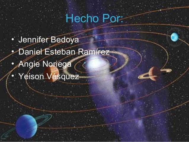 Hecho Por:•   Jennifer Bedoya•   Daniel Esteban Ramírez•   Angie Noriega•   Yeison Vásquez