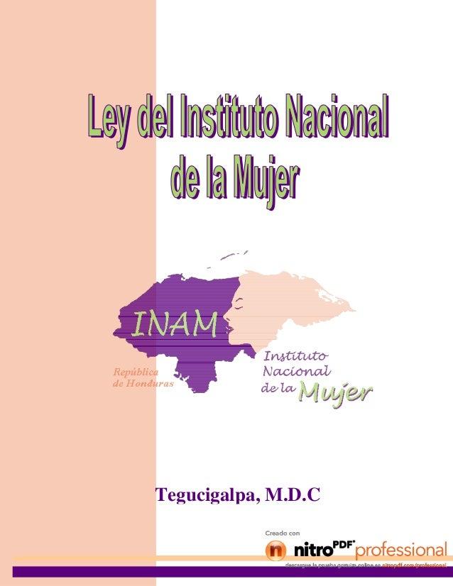 Tegucigalpa, M.D.C