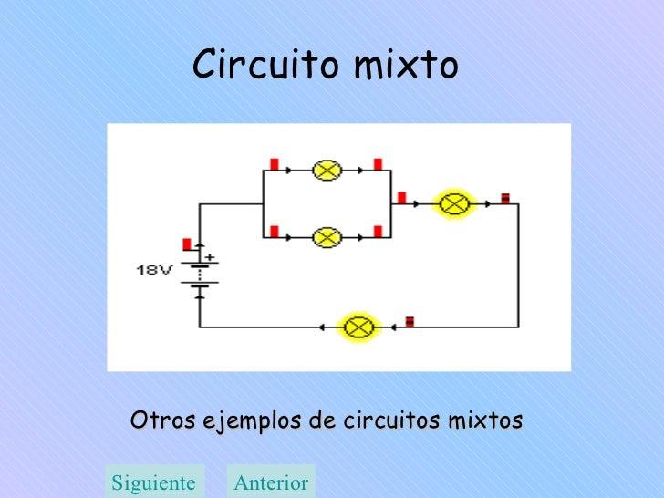 Circuito Mixto : Ley de ohm