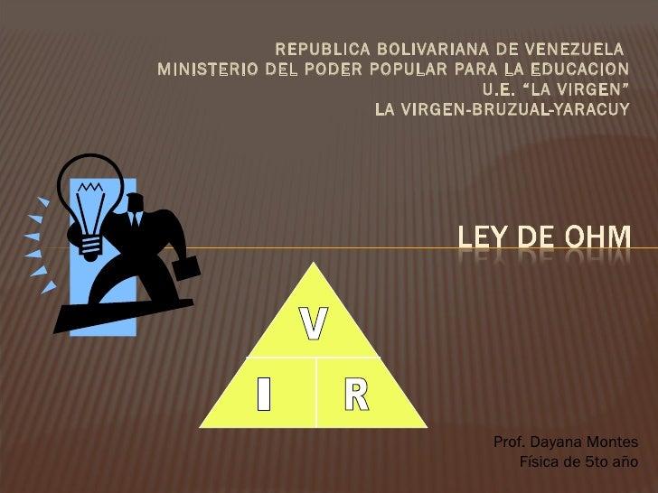 <ul><li>REPUBLICA BOLIVARIANA DE VENEZUELA  </li></ul><ul><li>MINISTERIO DEL PODER POPULAR PARA LA EDUCACION </li></ul><ul...