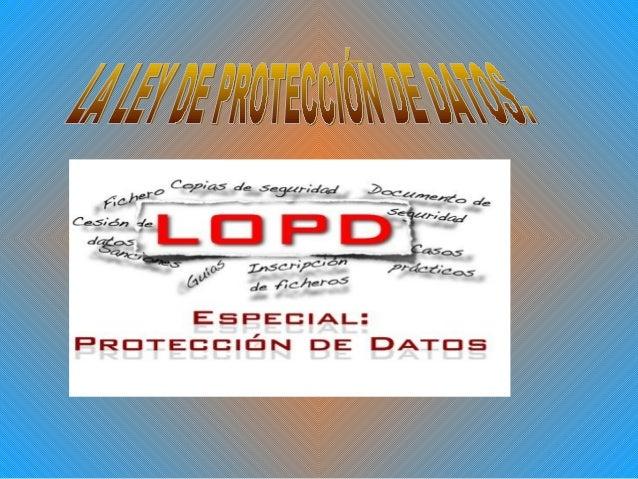 MODALIDADES AL TRATAMIENTO DE        LA INFORMACIÓN• El deber de información se establece en el art. 5  LOPD. La forma en ...