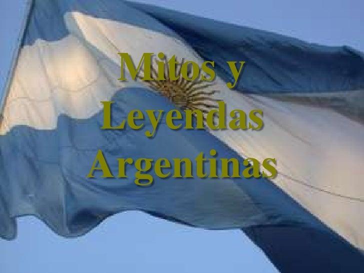 Mitos y Leyendas Argentinas<br />