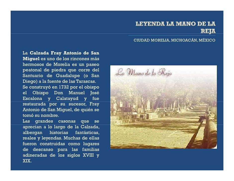 CIUDAD MORELIA, MICHOACÁN, MÉXICOLa Calzada Fray Antonio de SanMiguel es uno de los rincones máshermosos de Morelia es un ...