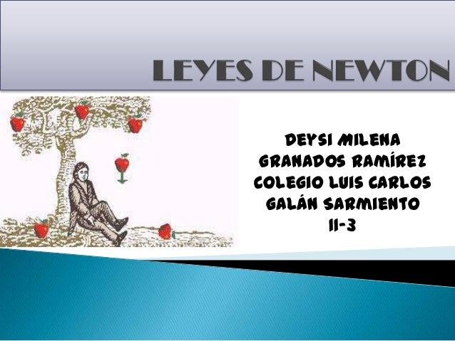 Deysi Milena Granados Ramírez Colegio Luis Carlos Galán Sarmiento 11-3