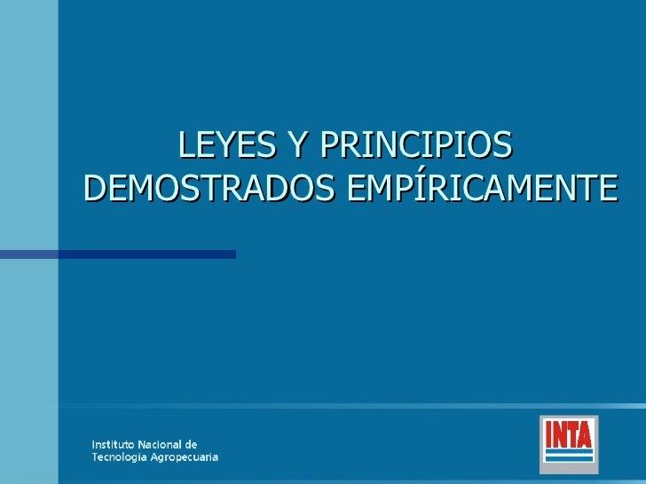 LeyesempíRicas