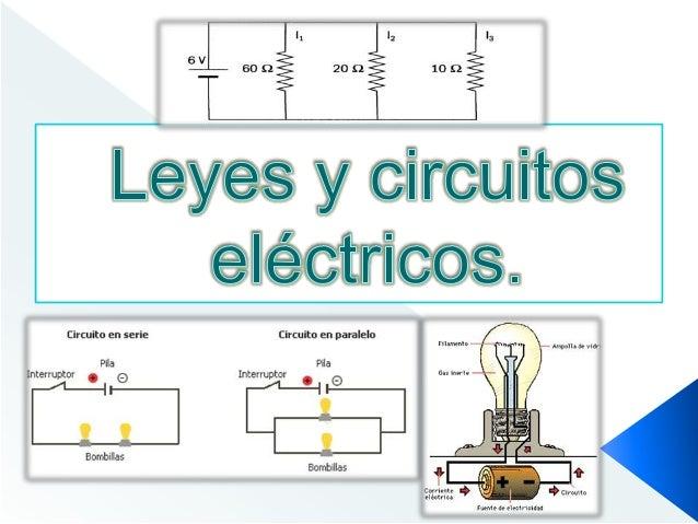Circuito Electrico En Serie : Leyes y circuitos electricos
