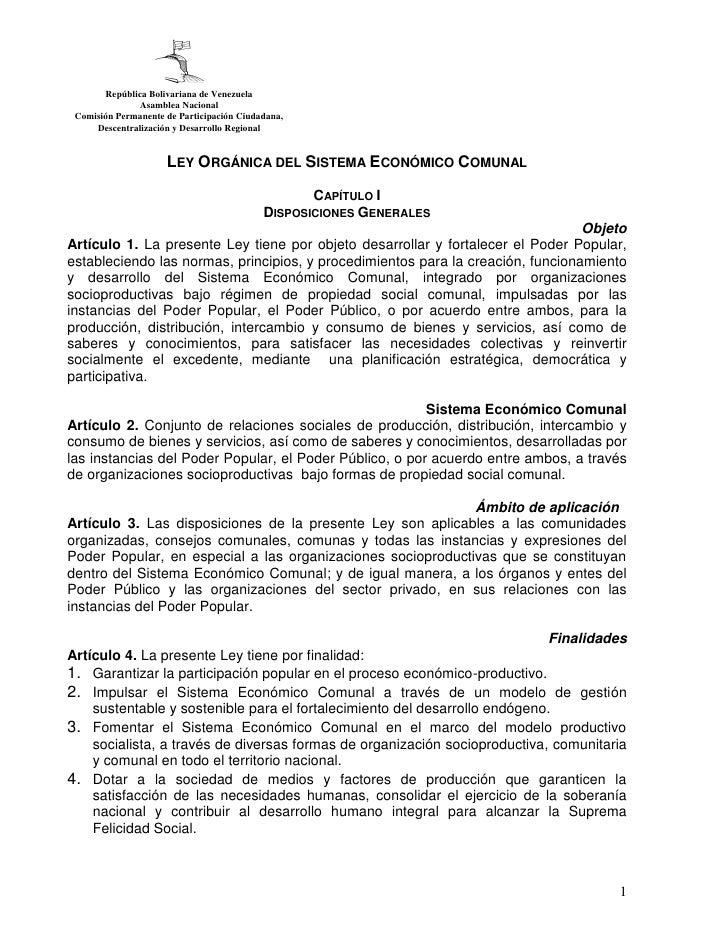 República Bolivariana de Venezuela              Asamblea Nacional Comisión Permanente de Participación Ciudadana,     Desc...