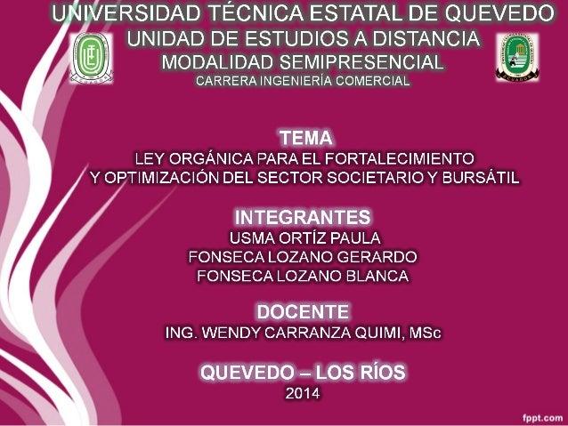 UNIDAD DE ESTUDIOS A DISTANCIA  Lema» .4  UNIVERSIDAD TÉCNICA ESTATAL DE QUEVEDO  MODALIDAD SEMIPRESENCIAL  CARRERA INGENI...