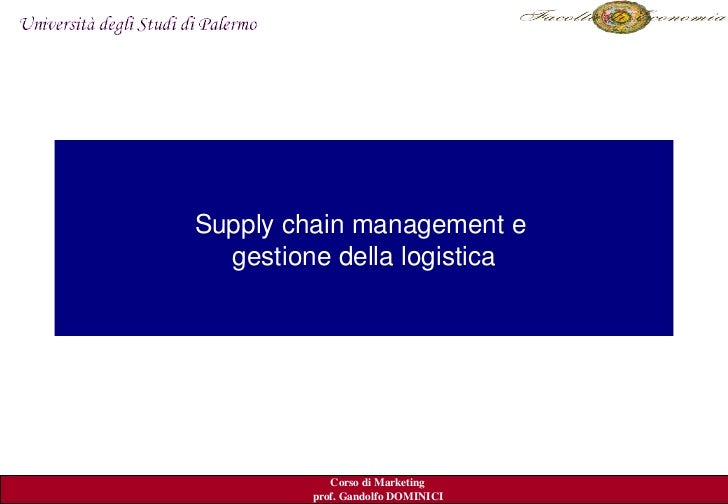 Supplychainmanagemente   gestionedellalogistica                                        Kerinedal.2007            ...