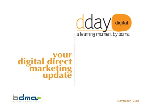 People are lazy, my presentation voor Digital Day By BDMA (marketing)