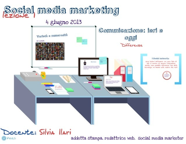 Parte prima, lezione 4 giugno 2013, social media marketing.