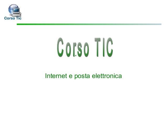 Lezione 3 internet