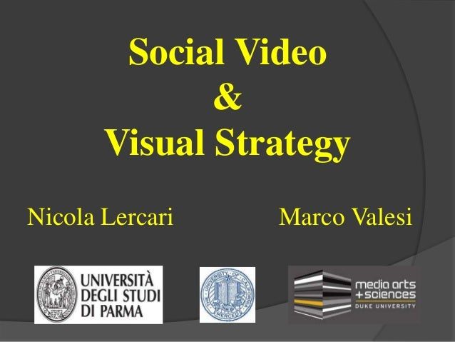 Social Video & Visual Strategy - Lezione 4 Ubiquitous Computing & Augmented Reality