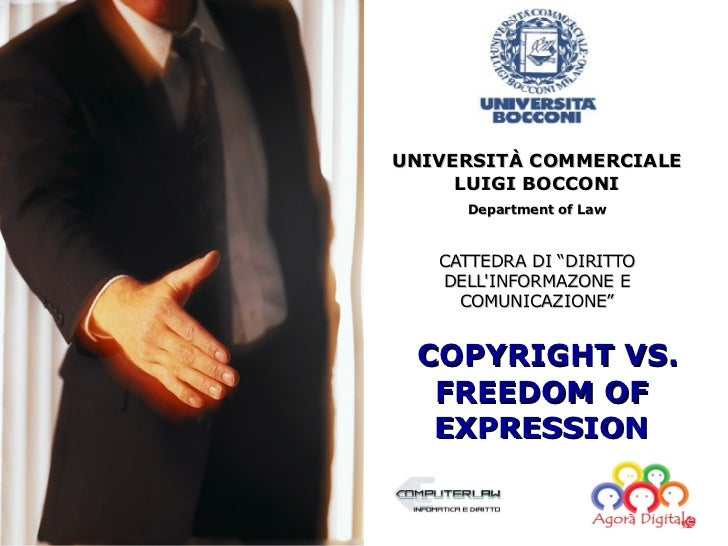 Copyright vs. Freedom of expression