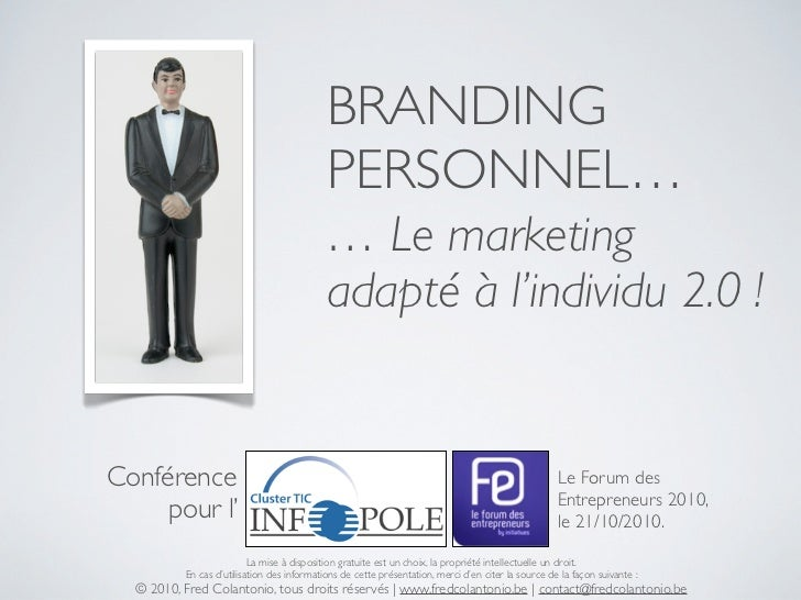 BRANDING                                             PERSONNEL…                                             … Le marketing...