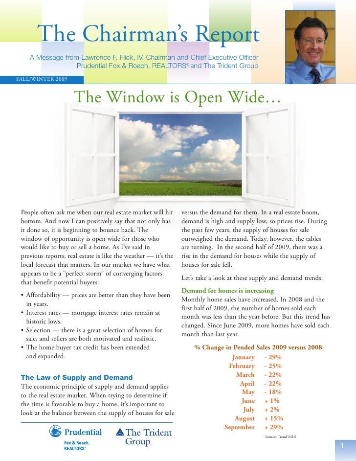 """""""The Window is Open Wide"""" - Greater Philadelphia Housing Market"""