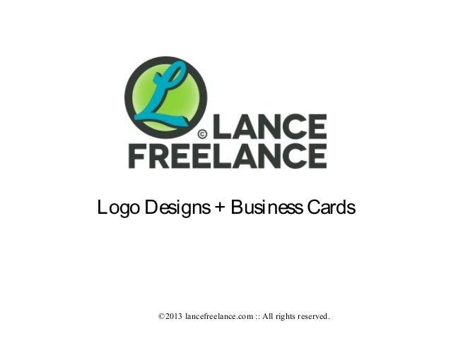 lancefreelance.com :: Brand :: Logos + Business Cards