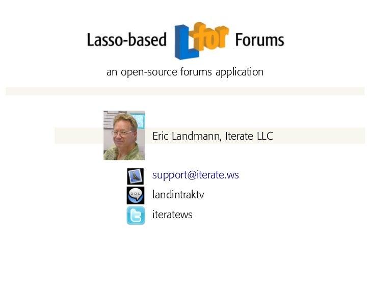 Lfor LDC Present 09
