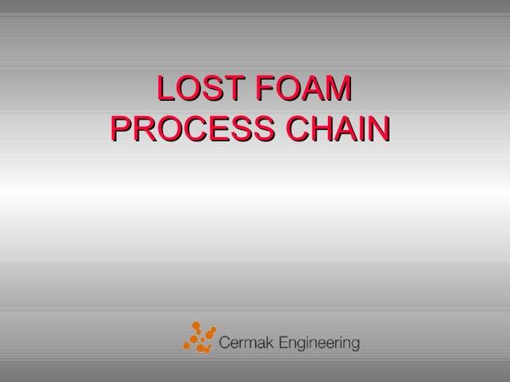 LOST FOAMPROCESS CHAIN