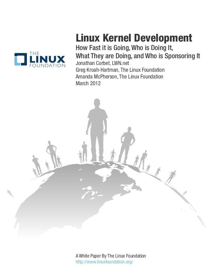 Who writes Linux (2012)