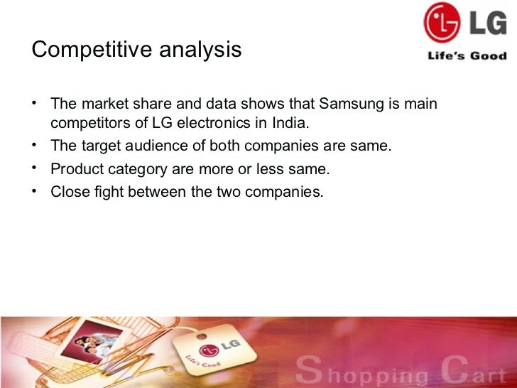 analysis of marketing strategy of lg Samsung marketing strategy: samsung group report contains a full analysis of samsung marketing strategy lg's marketing costs rise in 2016 amid heightened.