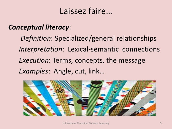 laissez faire essays In the past twelve months i have witnessed quite a few leadership styles when i was working in one of the diamond manufacturing company's the.