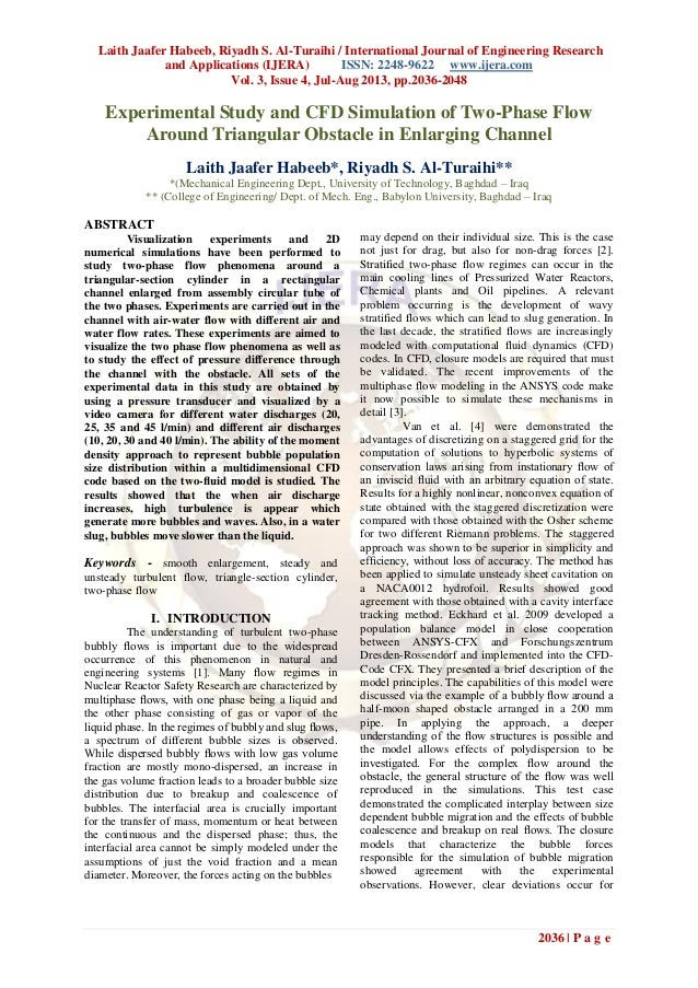 Laith Jaafer Habeeb, Riyadh S. Al-Turaihi / International Journal of Engineering Research and Applications (IJERA) ISSN: 2...