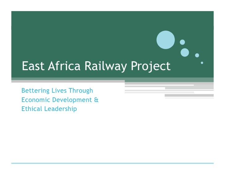 Lunsford Group E. Africa Railway Project 01 2010