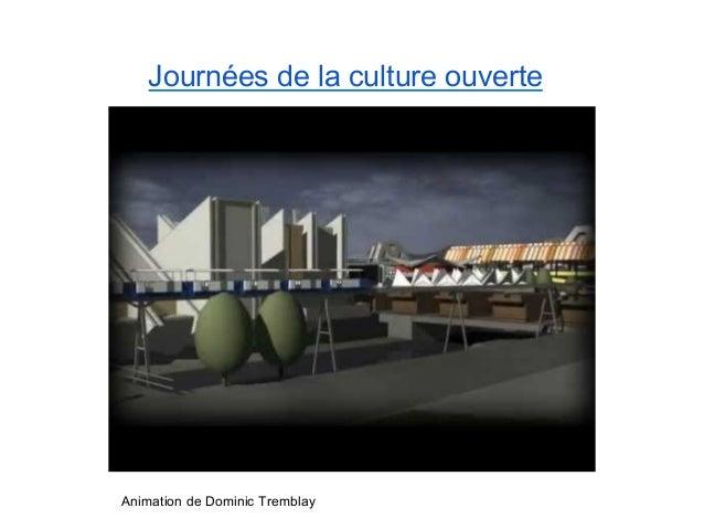 Journée de la culture ouverte - Luc Gauvreau