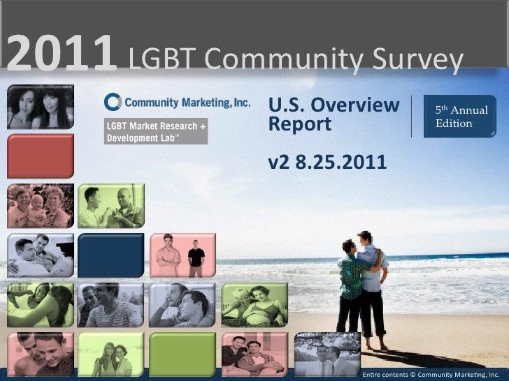 Community Marketing, inc. 5th Annual LGBT Survey