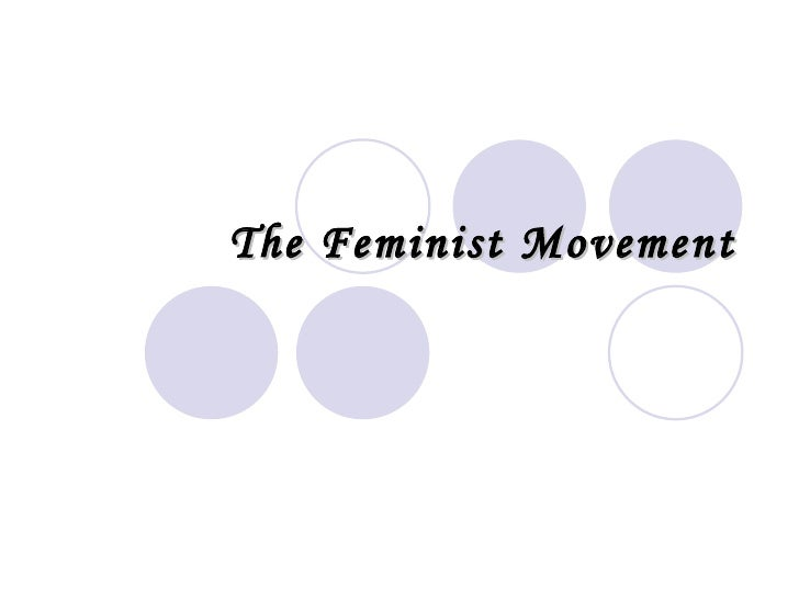 Feminist Movement - DRWG 206